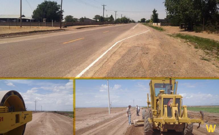 Construcción de Caminos Rurales